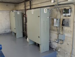 Completed New AC Elevator Controllers