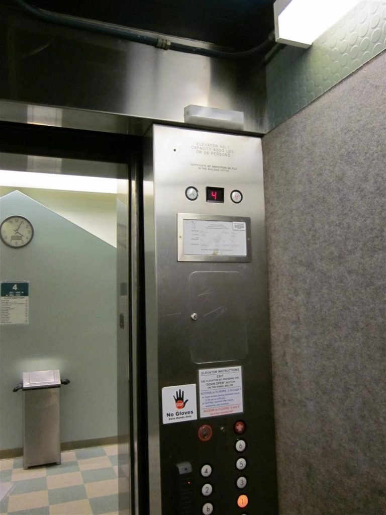 New Elevators Get Worn and Jaded Over Time