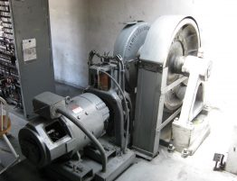 Modernization of Old machine and DC motor at Sacramento St.