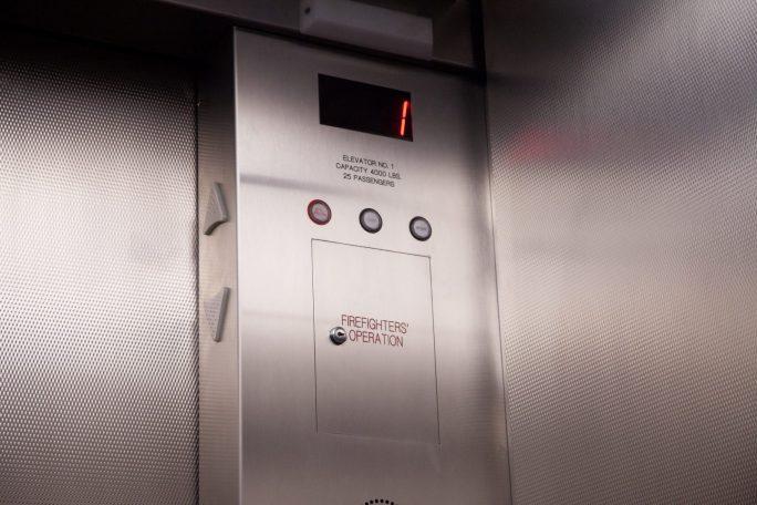 New Elevator Console San Francisco